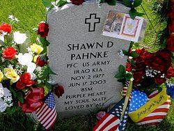 PFC Shawn David Pahnke