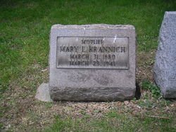 Mary Louise <i>Mueller</i> Krannich