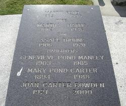 Joan <i>Carter</i> Bowden