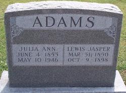 Lewis Jasper Adams