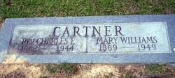 Mary <i>Williams</i> Cartner