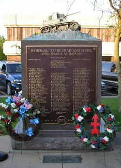 192nd Tank Battalion, Company A Memorial