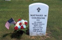 PFC Maynard Milton Colebank