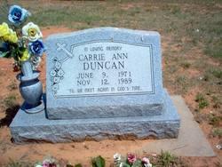 Carrie Ann Duncan