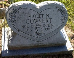 Violet N. <i>West</i> Cowsert