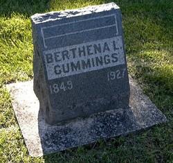 Mary Berthena <i>Letcher</i> Cummings
