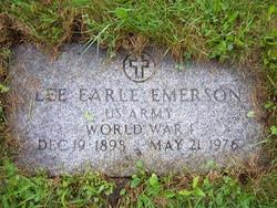 Lee Earl Emerson