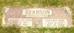 Thelma May <i>George</i> Branson