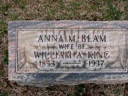 Anna M. <i>Beam</i> King