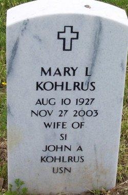 Mary L. Kohlrus