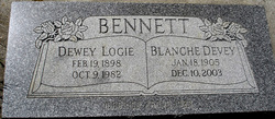 Blanche Lafern <i>Devey</i> Bennett