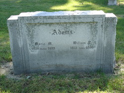 Maria M <i>Hatch</i> Adams