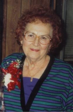 Irene Vera <i>Balla</i> Sebok