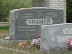 Heinrich August Wilhelm Henry Kramer, Sr