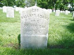 Pvt Ballard Adams