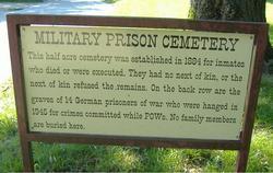 United States Disciplinary Barracks Cemetery