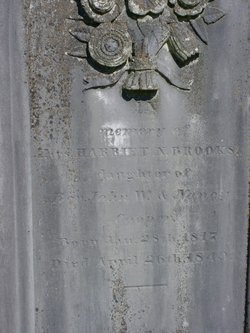 Harriett Newell <i>Cooper</i> Jones - Brooks
