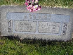 Sarah Elizabeth <i>Edwards</i> Abrams