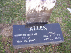 Winnifred <i>Ingram</i> Allen