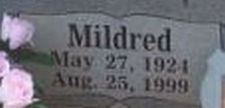 Mildred <i>Hawkins</i> Burnett