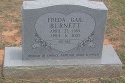 Freda Gail Burnett