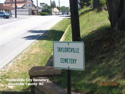Taylorsville City Cemetery