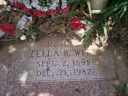Zella B Witt