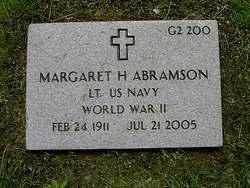 Lieut Margaret Heing Abramson