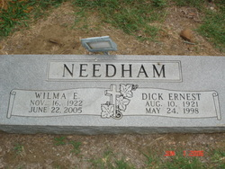 Wilma E. 'Jane' <i>Rederford</i> Needham