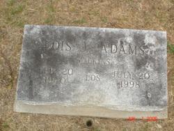 Lois Jeanette <i>Wilkins</i> Adams