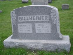 Mary C. <i>Boyer</i> Billheimer