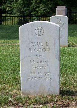 Paul Lester Rigdon