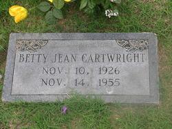 Betty Jean <i>Panter</i> Cartwright