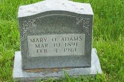 Mary O. Adams