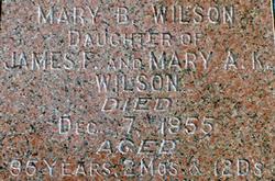 Mary B. Wilson