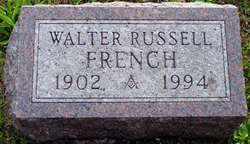 Walter Russell French