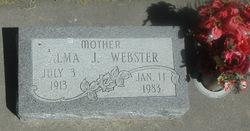Alma J Webster