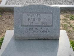 Sgt Warren Lindy Barfield
