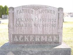 Benjamin F. Ackerman