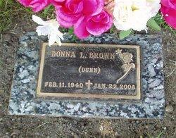 Donna Lucille <i>Dunn</i> Brown