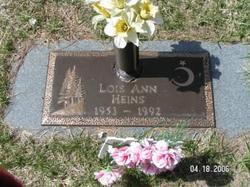 Lois Ann <i>High</i> Heins