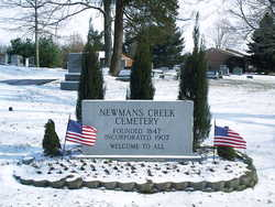 Newmans Creek Cemetery