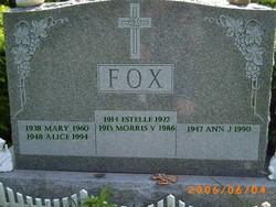 Alice Jean Fox