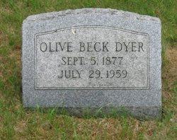 Olive B. <i>Beck</i> Dyer