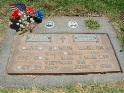PFC David Edwin Barber