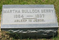Martha <i>Bullock</i> Berry