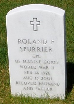 Roland Frederick Fred Spurrier