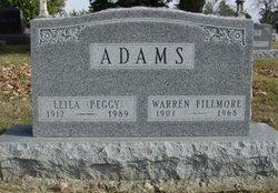 Warren Fillmore Adams