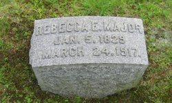 Rebecca E. <i>Raysor</i> Major