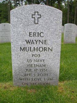 Eric Wayne Mulhorn